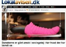 Lokalavisen.dk - Danskerne går amok i sexlegetøj