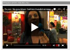 Lokalavisen TV : Så sjov bliver bækkenbundstræning