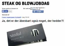 Steak & Blowjobdag – Aniston.dk