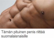 Tämän pituinen penis riittää suomalaisnaisille - Stara.fi