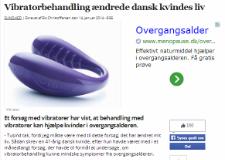 Vibratorbehandling ændrede dansk kvindes liv – Dagens.dk