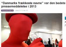 Mynewsdesk: Årets pressemeddelelse 2013
