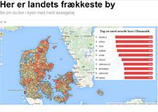 Sinful kårer Danmarks frækkeste by