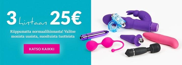 3 hintaan 25€